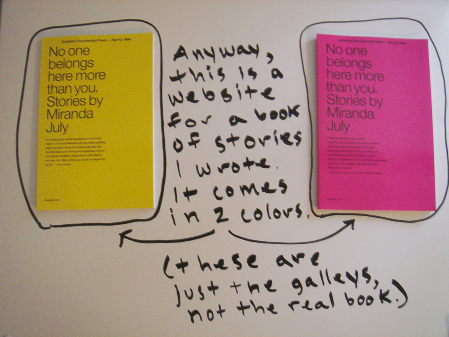 No one belongs here more than you. Stories by Miranda July
